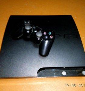 Прошитая Playstation 3 320гб