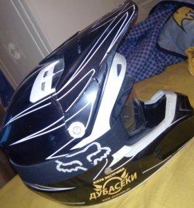 Fox racing v1 шлем