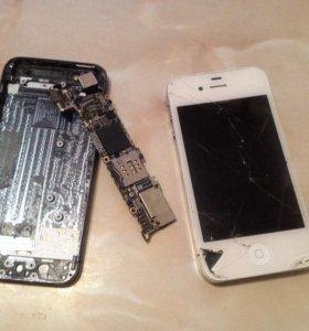 Плата iPhone 5 и 4