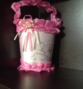 Свадебные корзинки для гадания на первенца