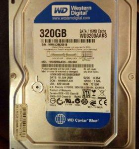 ВИНЧЕСТЕР с установленной виндой 320 GB