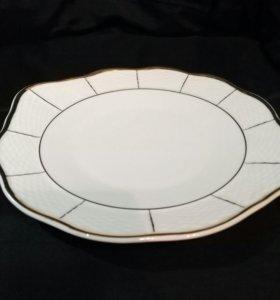 Пирожковая тарелка богемия