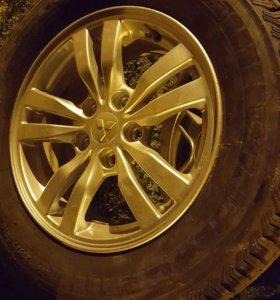 Зимние колеса для Mitsubishi Outlander