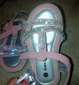 Обувь для девочки. Пакет