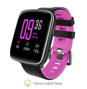 Умные часы Smart Watch GV68 pink