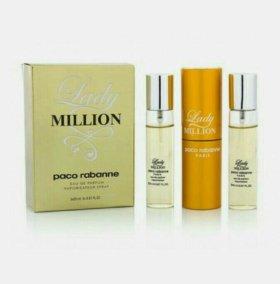 Набор парфюма Paco Rabanne Lady Million
