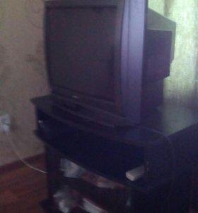 Телевизор с тумбой