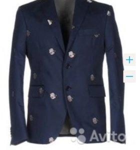 Крутой дизайнерский пиджак LC23 46й размер, новый