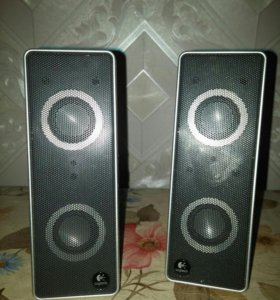 Колонки Logitech V10 Notebook Speakers (USB)