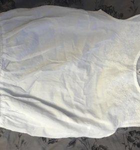 Блузка без рукав на девочку 13-14 лет