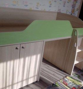 кровать- чердак + Шкаф