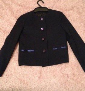 Школьный детский пиджак(для девочки)
