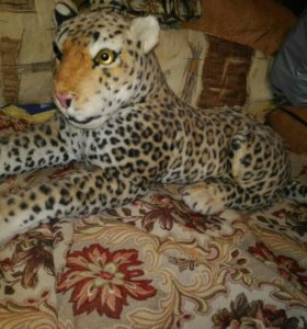Игрушка леопард большая