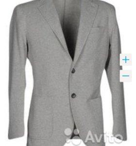 Серый модный пиджак besilent новый 46-48