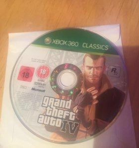 Лицензионная GTA 4 Xbox360
