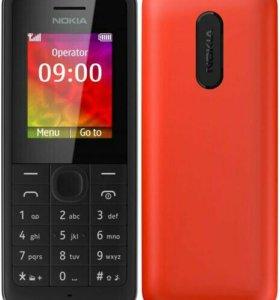 Nokia 106 , звонилка с фонариком