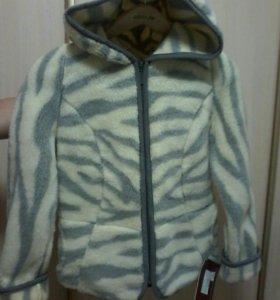 Куртка из овечьей шерсти
