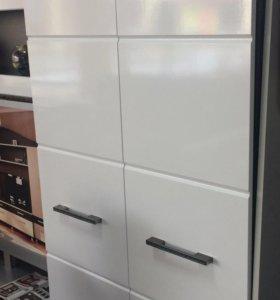 Белый новый Шкаф 2-х створчатый