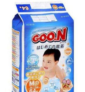 Goon японские трусики 7-12 кг, 58 штук