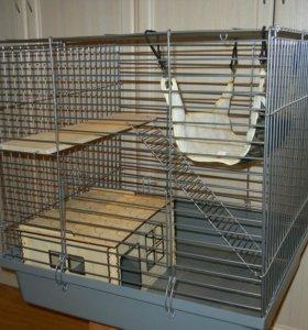 Клетка для шиншилл, хорьков, крыс, дегу