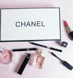 Набор Chanel 5 в 1 + подарок набор Kylie
