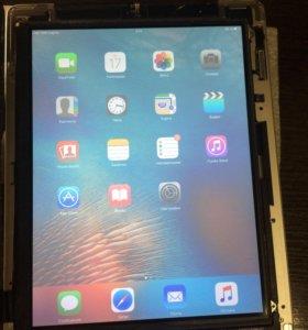 Экран iPad 2 с искажением цветопередачи, дисплей