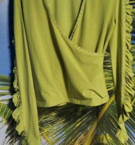Вещи.Блуза стрейч на 46-48(M-L-XL)