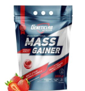 MASS GAINER 2000 грамм GENETIC LAB