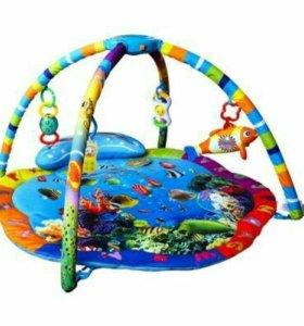 Развивающий коврик с подсветкой и музыкой