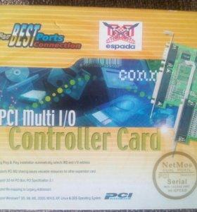 Плата PCI COM порты