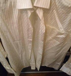 Шелковые рубашки. 4 шт. Новые