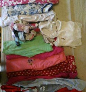 Детские вещи и обувь (пакетом) 2,5-3,5 года