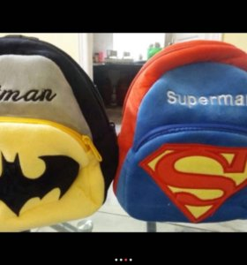 Плюшевые рюкзачки