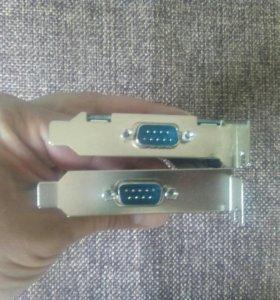 Плата PCI COM порт для POS терминалов
