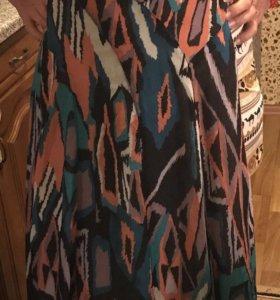Платье сарафан S шифон