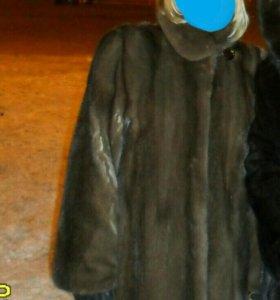 Норковая шуба 44 размер