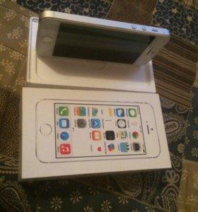 iPhone 5s white.32Gb.В идеальном состоянии
