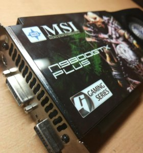 Видеокарта MSI GeForce 9800 GTX+