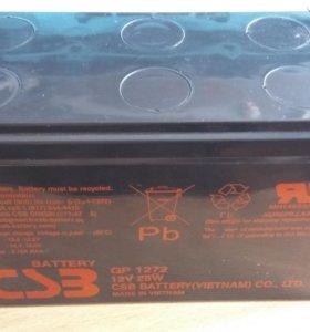 Аккумуляторная батарея для ИБП CSB GP1272 Новая.
