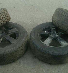 Сезонное хранение колес, резины, дисков