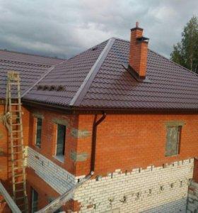 Строительство домов коттеджей!кровля крыш