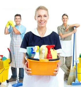 Оказываем услуги по уборке квартир,офисов