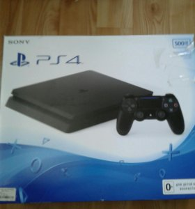 Sony ps 4 .slim.новая