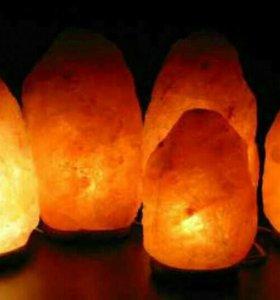 Солевая лампа Скала