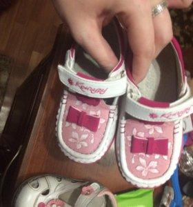 Детские Макасины и детские сандали
