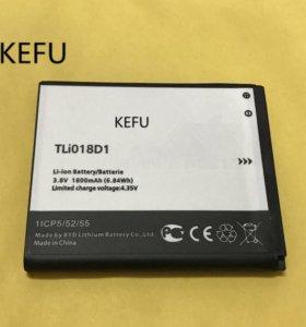Аккумулятор для Alcatel One Touch TLi018D1