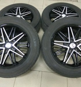 Комплект колёс R17, резина летняя 215/55/17