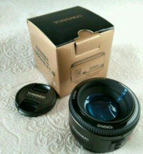 Объектив для Canon - Yongnuo 50 mm f/1.8