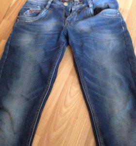 Мужские джинсы утеплённые