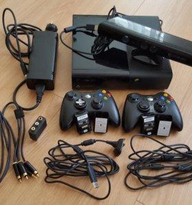 Игровая приставка Micrisoft Xbox360 500GB + Kinect
